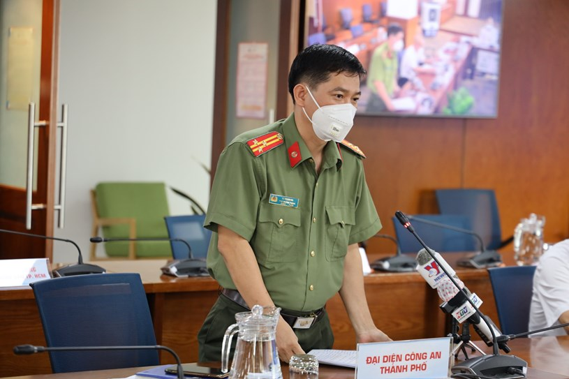 Thượng tá Lê Mạnh Hà, Phó Trưởng phòng tham mưu Công an TP