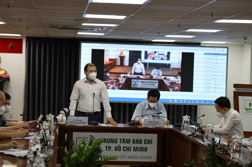 Phó Trưởng Ban Tuyên giáo Trung ương Lê Hải Bình phát biểu kết luận cuộc họp. Ảnh: Khang Minh