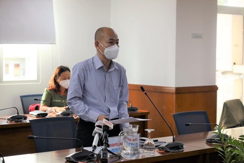 Phó giám đốc Sở Công thương Nguyễn Nguyên Phương