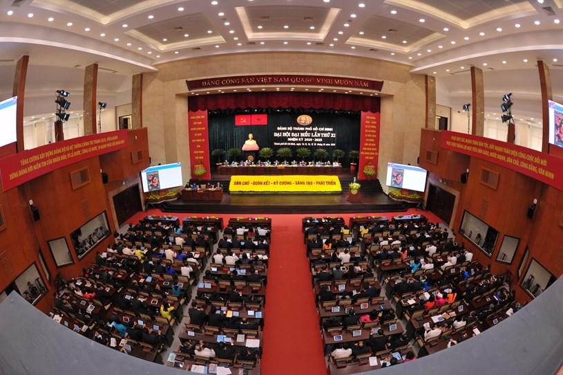 Hình ảnh, tài liệu ngày làm việc thứ 2 của Đại hội Đại biểu Thành phố lần thứ XI