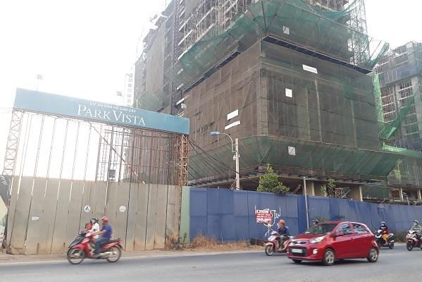 Dự án nhà ở tái định cư kết hợp kinh doanh tại phân khu số 11B đường Nguyễn Hữu Thọ, xã Phước Kiển, huyện Nhà Bè, TP.HCM. Ảnh: Việt Dũng