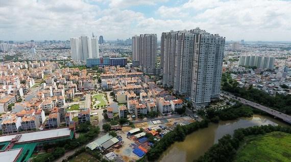 Một góc Quận 7. Ảnh: Việt Dũng