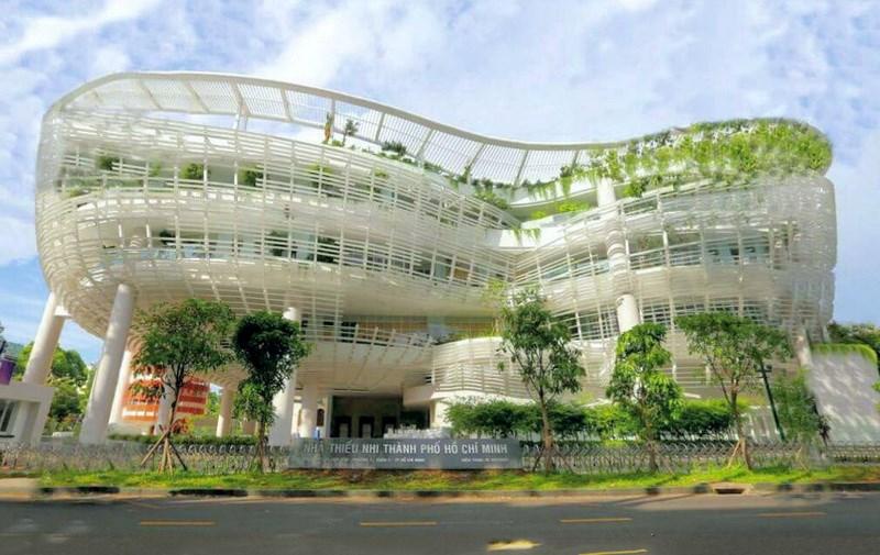 Nhà Thiếu nhi Thành phố. Ảnh:nhathieunhitphcm.com.vn