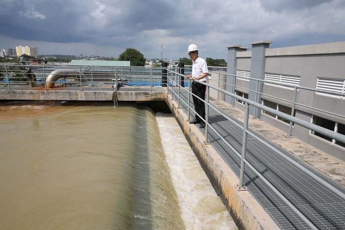 TP HCM đang tiến hành hàng loạt giải pháp để nâng cao chất lượng nguồn nước cũng như nâng cao chất lượng cấp nước. Ảnh: HOÀNG TRIỀU