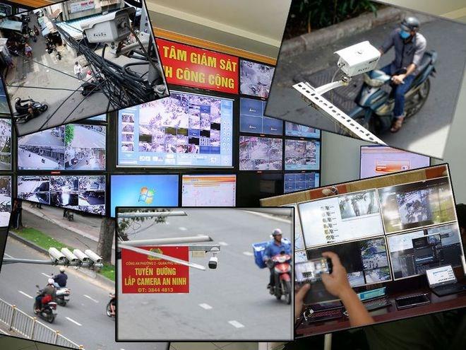 Từ nay đến 2025 sẽ dành kinh phí khoảng 2.150 tỉ đồng để lắp camera giám sát toàn Hà Nội, TP.HCM.