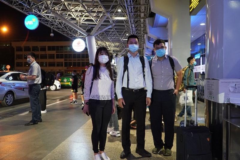 Đội phản ứng nhanh Bệnh viện Chợ Rẫy lên đường hỗ trợ tại Gia Lai. (Ảnh: BVCR)