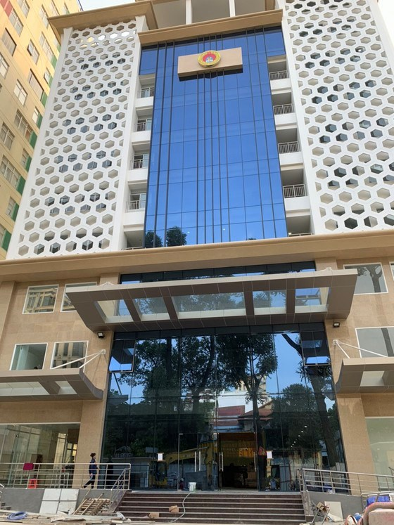 Trụ sở mới của Sở LĐTB-XH TPHCM tại quận 3 hoàn thành vượt tiến độ sau 19 tháng thi công