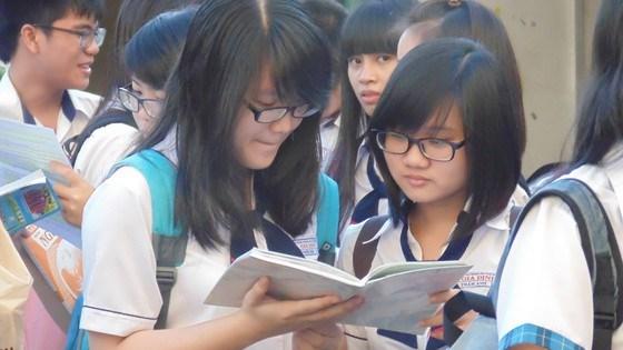 Học sinh TPHCM tham gia một kỳ thi học sinh giỏi