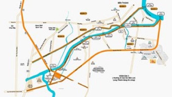 Sơ đồ tuyến đường Tạ Quang Bửu