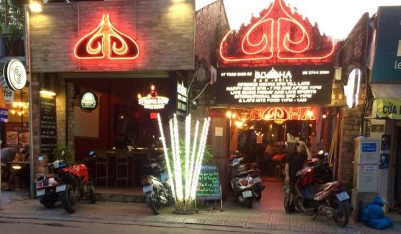 Cơ sở ăn uống tại số 7 đường Thảo Điền - Q.2/ Ảnh: Giacngo online