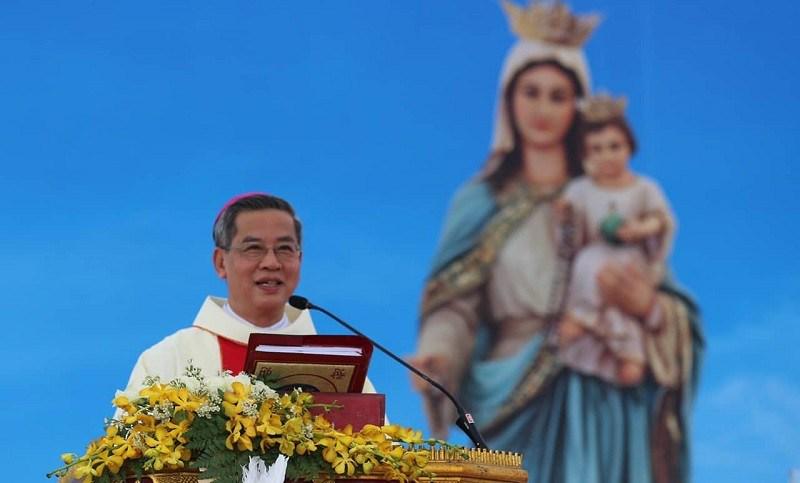 Đức Cha Giuse Nguyễn Năng, Tổng Giám mục Tổng giáo phận TP.HCM. ẢNH:GHCGV.