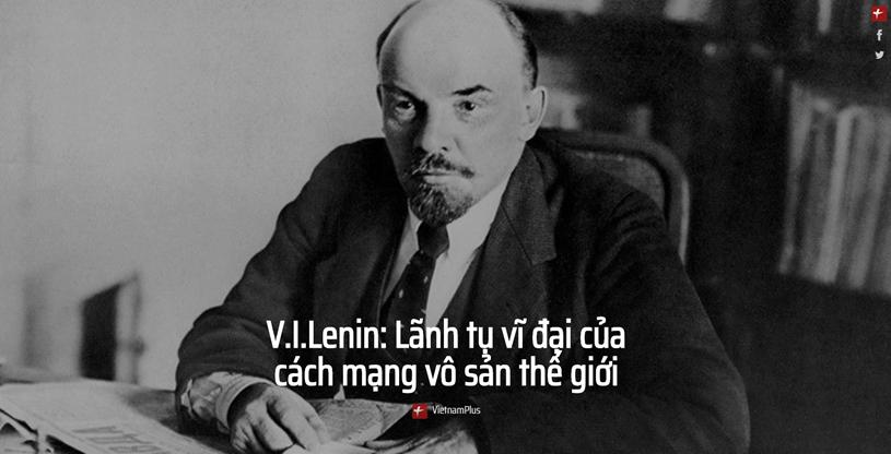 V.I.Lenin: Lãnh tụ vĩ đại của cách mạng vô sản thế giới - Ảnh 1