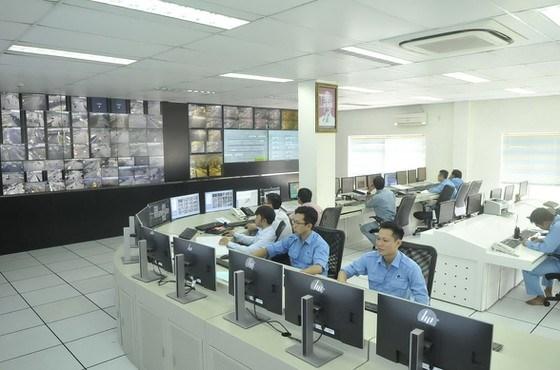 Trung tâm quản lý điều hành giao thông đô thị thông minh TPHCM. Ảnh:CAO THĂNG