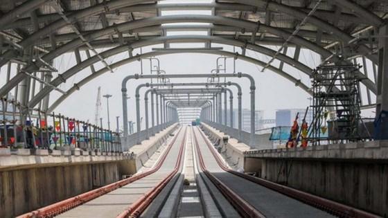 Hệ thống metro sẽ góp phần giúp TPHCMcải thiệnđiều kiện đi lại. Ảnh:QUỐC HÙNG