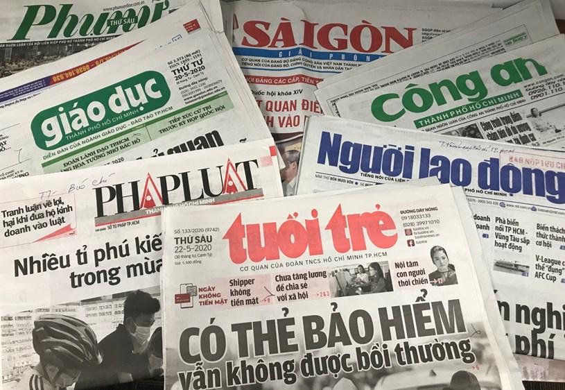 TP. Hồ Chí Minh: Phê duyệt Đề án sắp xếp, phát triển và quản lý báo chí đến năm 2025