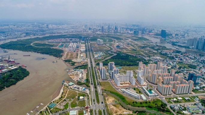 Một phần Khu đô thị sáng tạo, tương tác cao phía Đông TP sẽ nằm ở quận 2 (Ảnh: Hoàng Triều)