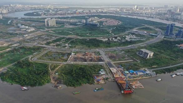 Dự án Khu đô thị mớiThủ Thiêm- Ảnh: TỰ TRUNG