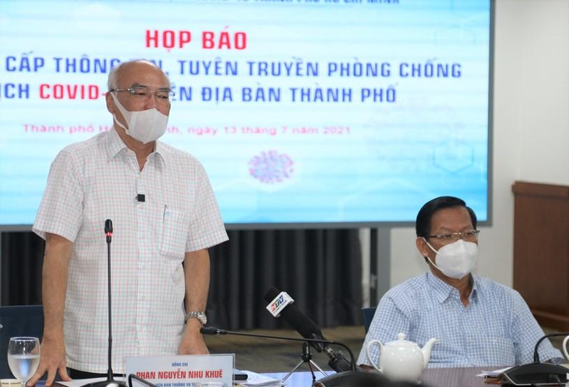 Trưởng Ban Tuyên giáo Thành ủy Phan Nguyễn Như Khuêmong muốn báo chí truyền thông tiếp tục đồng hành cùng TP