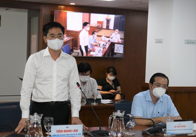 """Giám đốc Sở GTVT Trần Quang Lâm nhấn mạnh """"Các chốt kiểm soát không phải là phong tỏa"""""""