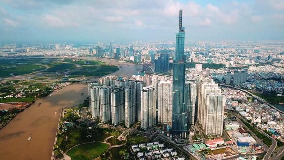 Trung tâm tài chính Thủ Thiêm sẽ là một trong 3 nền tảng phát triển đô thị sáng tạo phía đông TP.HCM - Ảnh: TT