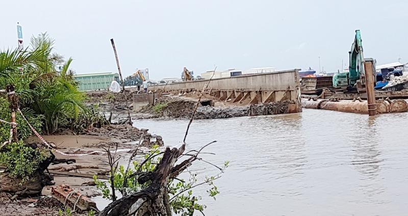 Kết luận thanh tra về sự cố công trình xây dựng kè bảo vệ khu dân cư Tắc Sông Chà, huyện Cần Giờ