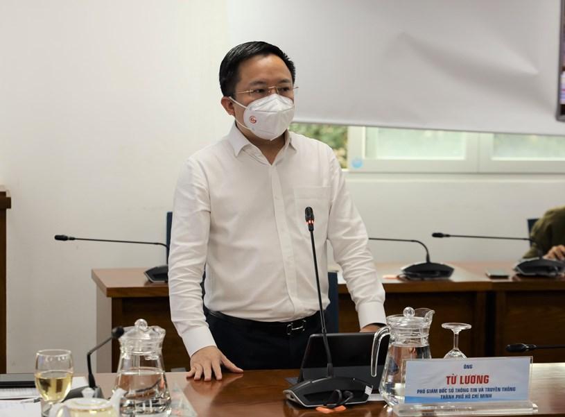 Phó Giám đốc Sở Thông tin và Truyền thông TP Từ Lương