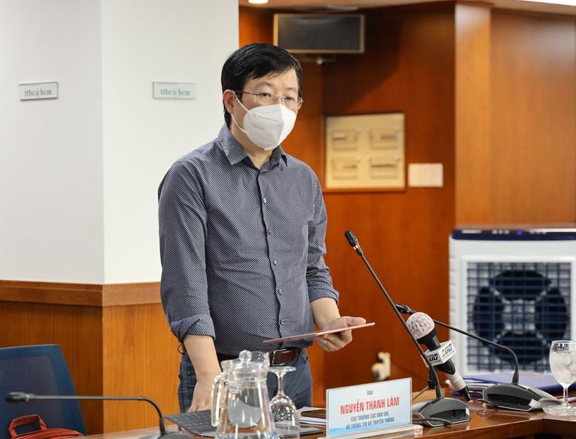 Cục trưởng Cục báo chí, Bộ Thông tin - Truyền thông Nguyễn Thanh Lâm