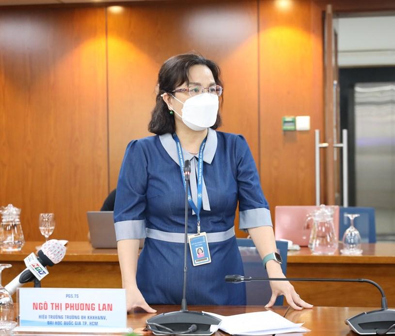 PGS.TS Ngô Thị Phương Lan - Hiệu trưởng trường Đại học KHXH&NV, Đại học Quốc gia TPHCM