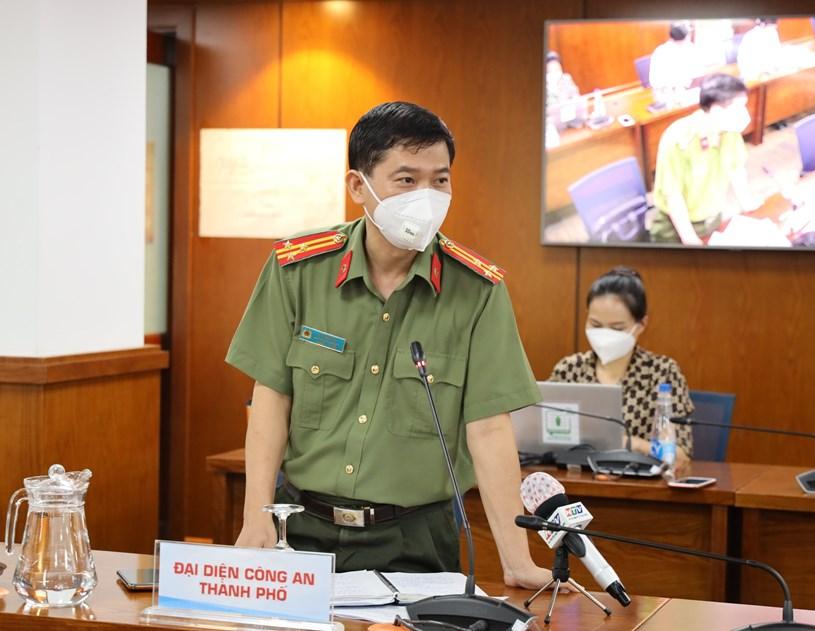 Thượng tá Lê Mạnh Hà – Phó Trưởng Phòng Tham mưu, Công an TP
