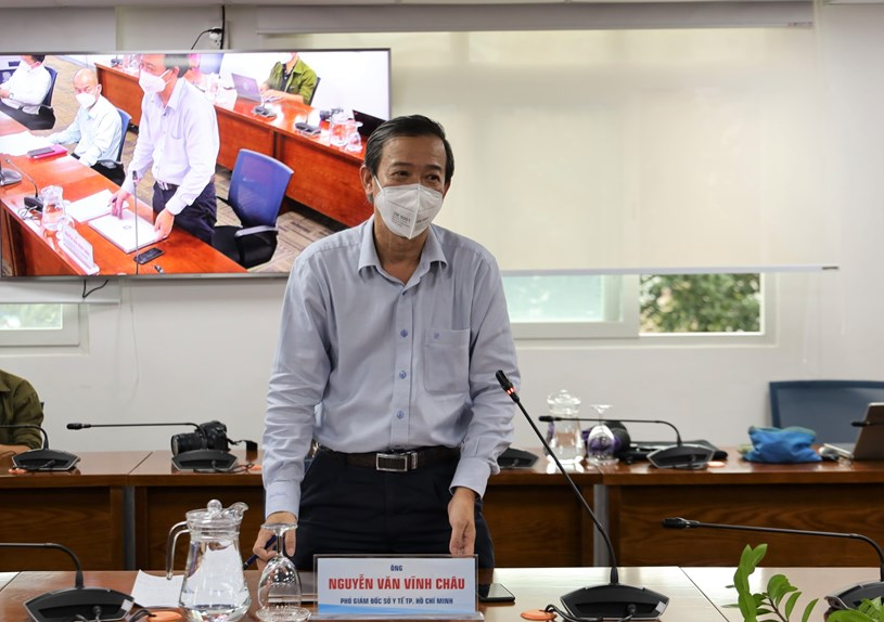Phó Giám đốc Sở Y tế Nguyễn Văn Vĩnh Châu