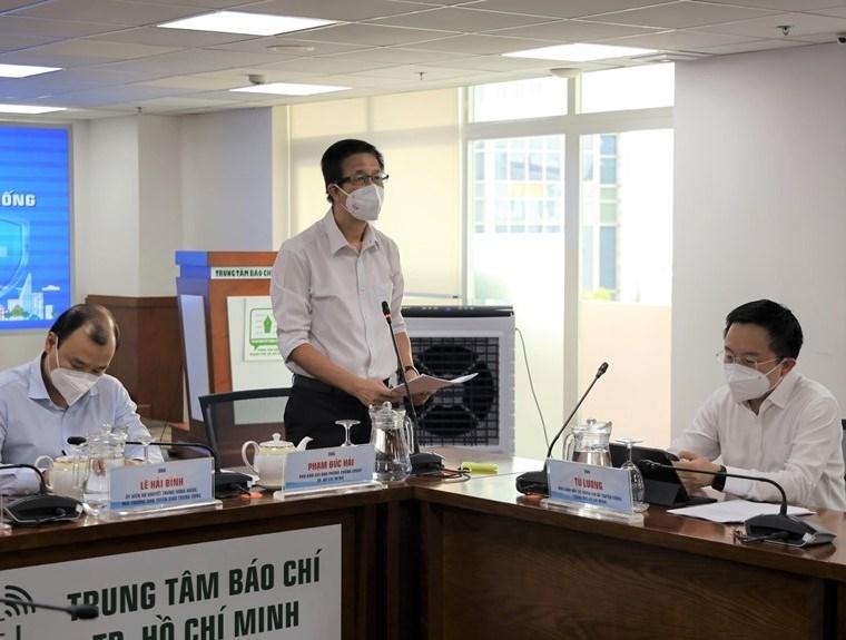 Phó Ban chỉ đạo TP Phạm Đức Hải