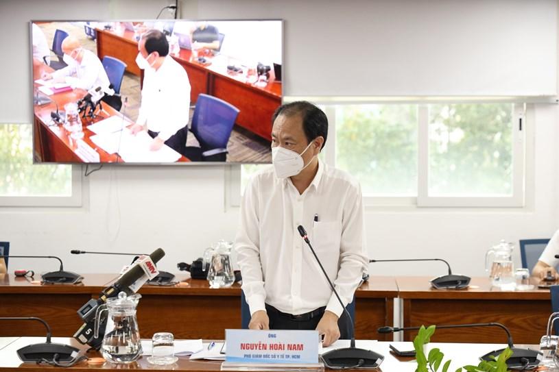 Phó Giám đốc Sở Y tế TP Nguyễn Hoài Nam