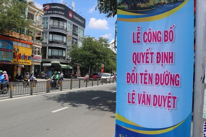 Lễ công bố quyết định đặt, đổi tên đường Lê Văn Duyệt sẽ diễn ra vào sáng 16/9