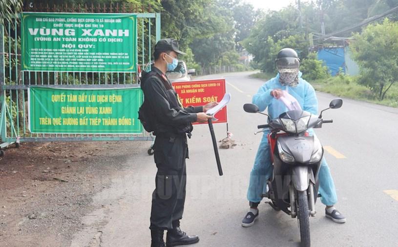 Huyện Củ Chi là một trong 3 địa phương đầu tiên của TPHCM công bố kiểm soát được dịch COVID-19. Nguồn: Website Thành ủy TPHCM