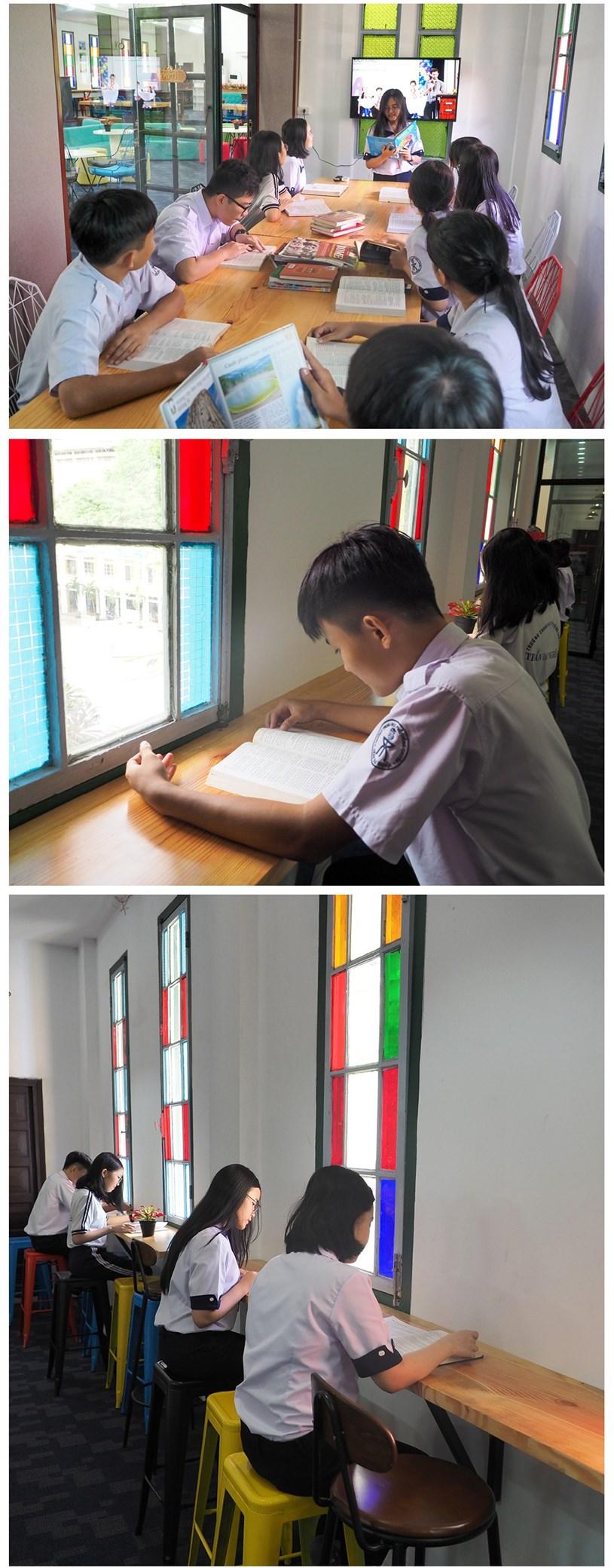 Đến thăm thư viện 5 sao Trường THPT chuyên Trần Đại Nghĩa - Ảnh 14