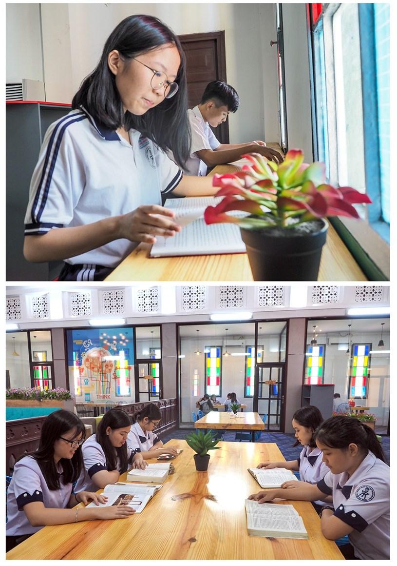 Đến thăm thư viện 5 sao Trường THPT chuyên Trần Đại Nghĩa - Ảnh 15