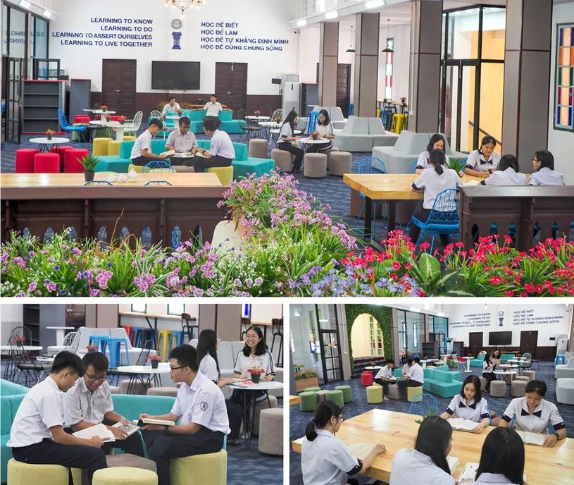Đến thăm thư viện 5 sao Trường THPT chuyên Trần Đại Nghĩa - Ảnh 16