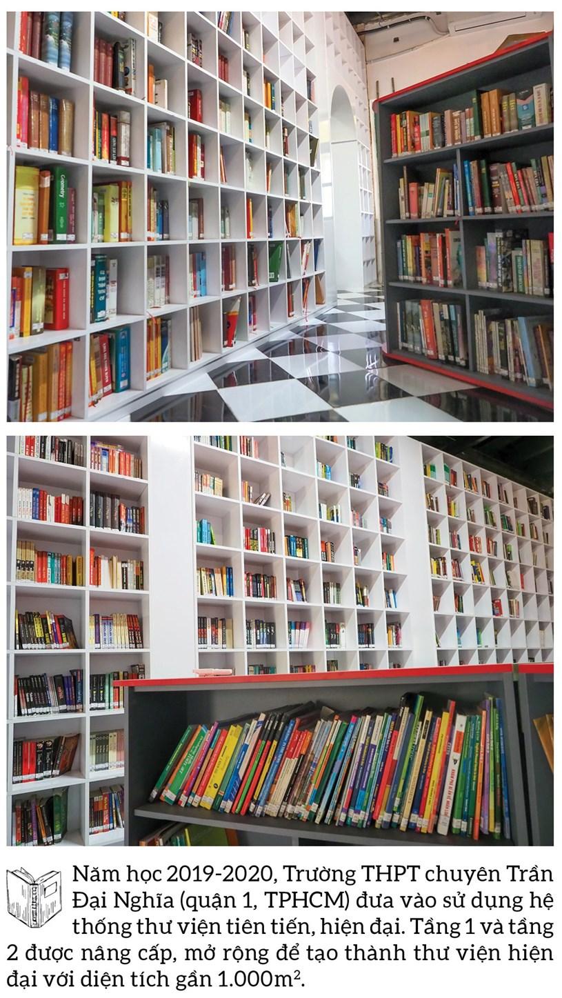 Đến thăm thư viện 5 sao Trường THPT chuyên Trần Đại Nghĩa - Ảnh 3