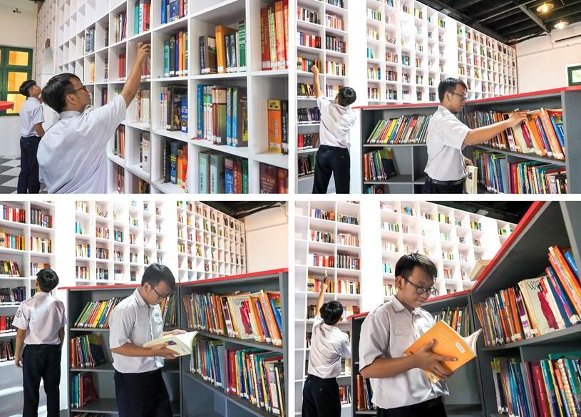 Đến thăm thư viện 5 sao Trường THPT chuyên Trần Đại Nghĩa - Ảnh 6