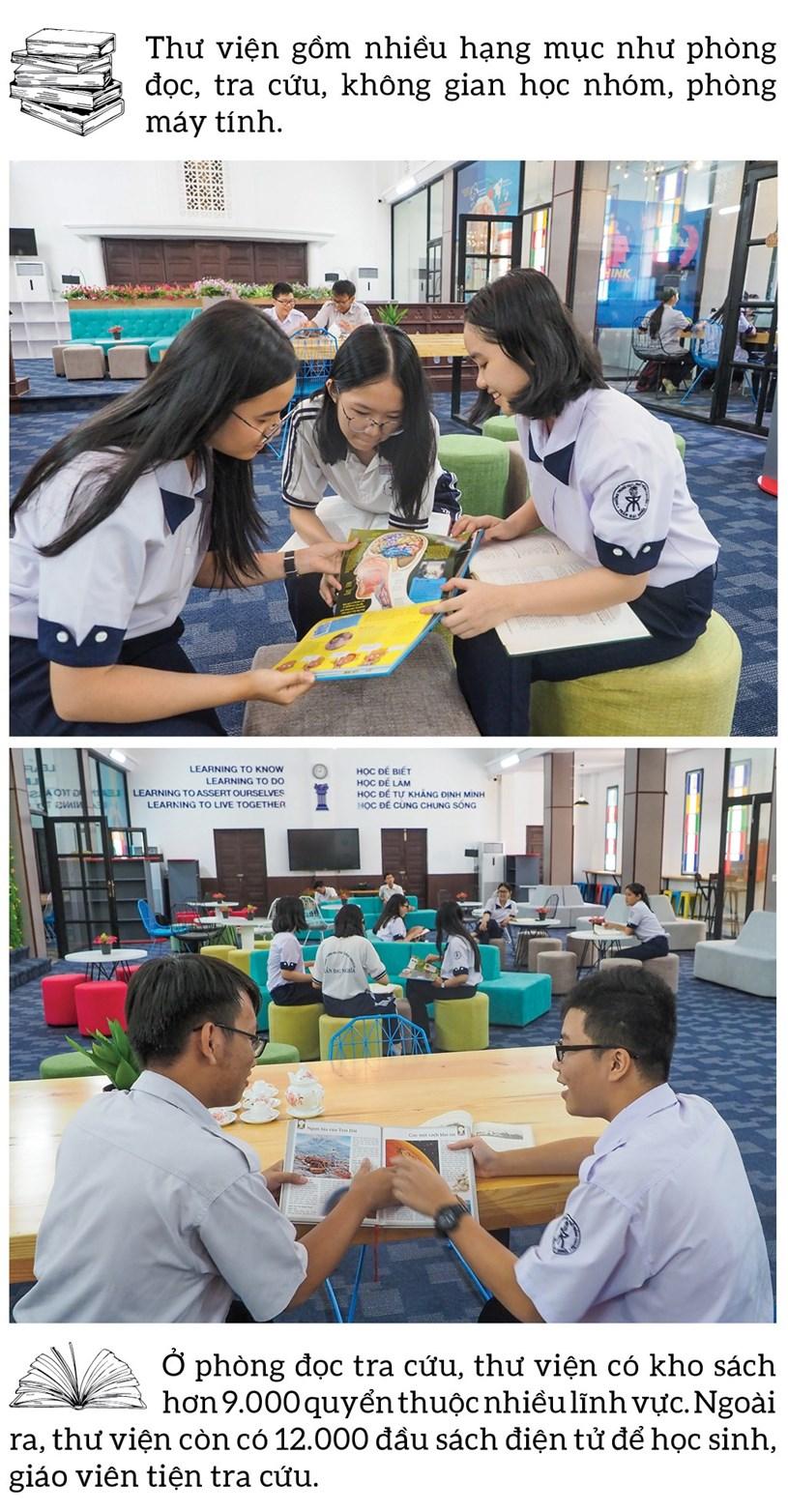 Đến thăm thư viện 5 sao Trường THPT chuyên Trần Đại Nghĩa - Ảnh 7