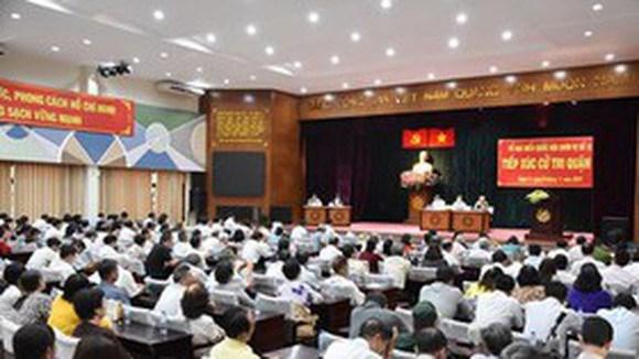 Lịch tiếp xúc cử tri trước kỳ họp thứ 10 Quốc hội khóa XIV