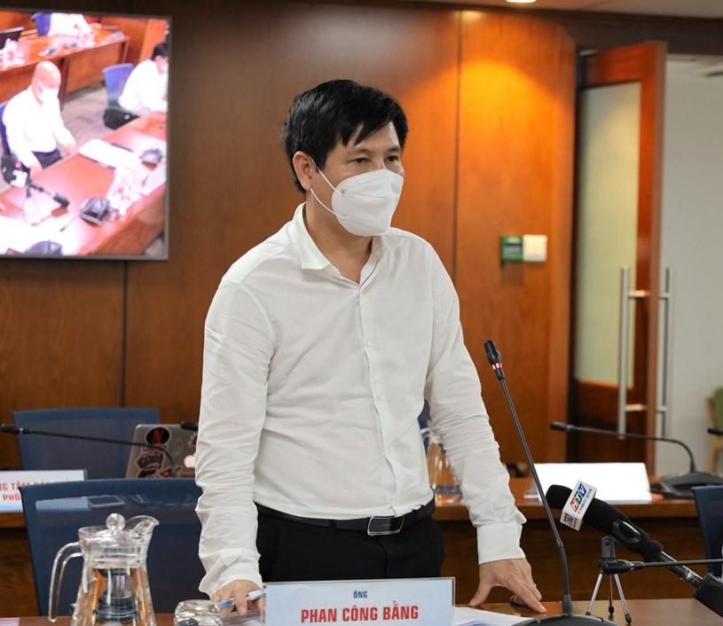 Phó Giám đốc Sở GTVT Phan Công Bằng