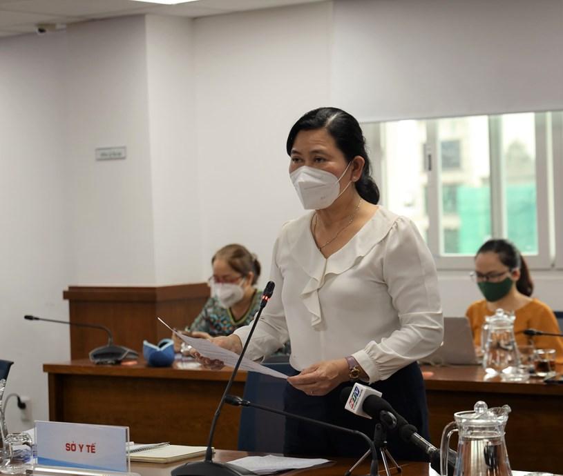 Chánh văn phòng Sở Y tế Lê Thị Huỳnh Mai cho biết, các bệnh viện tại TP dù đã chuyển đổi công năng nhưng vẫn có 1 đơn vị, khoa điều trị COVID-19
