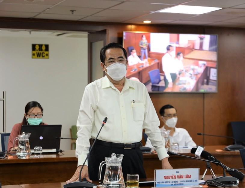 Theo Phó Giám đốc Sở LĐ-TB&XH Nguyễn Văn Lâm,khả năng đến 15/10/2021 có thể hoàn thành việc chi trả theo chỉ đạo của UBND TP.
