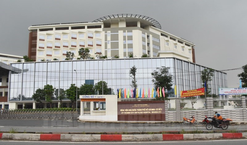 Bệnh viện Ung Bướu TPHCM cơ sở 2 được thực hiện bằng nguồn vốn đầu tư công vừa đưa vào sử dụng.