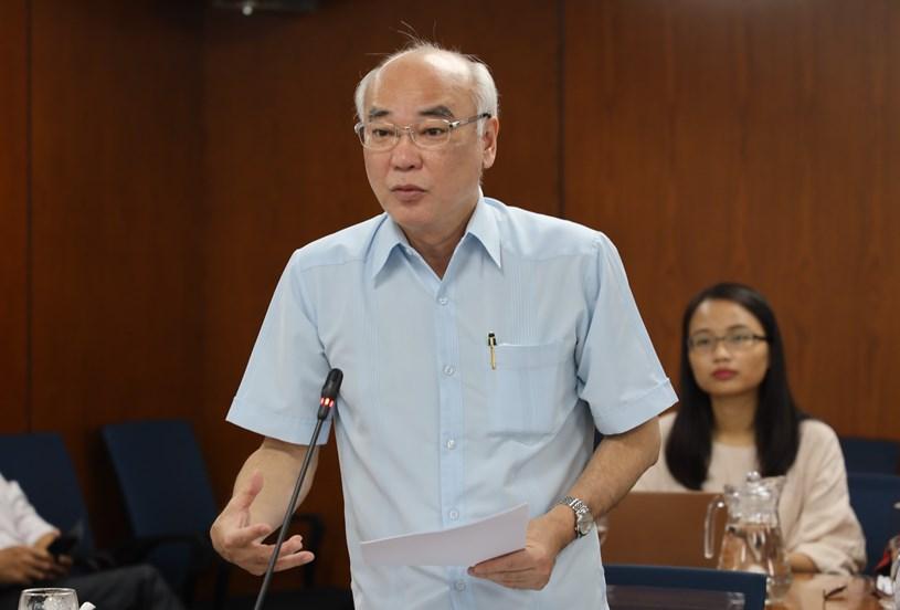 Ủy viên BTV Thành ủy,Trưởng Ban Tuyên giáo Thành ủy Phan Nguyễn Như Khuê đề nghị báo chí tuyên truyền đậm nét về Đề án chính quyền đô thị tại TPHCM. Ảnh: Khang Minh