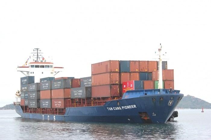 Tuyến vận tải container nội địa kết nối các cảng ở Hải Phòng - Cam Ranh - TP Hồ Chí Minh