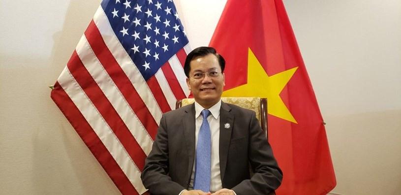 Đại sứ Hà Kim Ngọc - Đại sứ Đặc mệnh toàn quyền nước CHXHCN Việt Nam tại Hợp chủng quốc Hoa Kỳ. Ảnh tư liệu