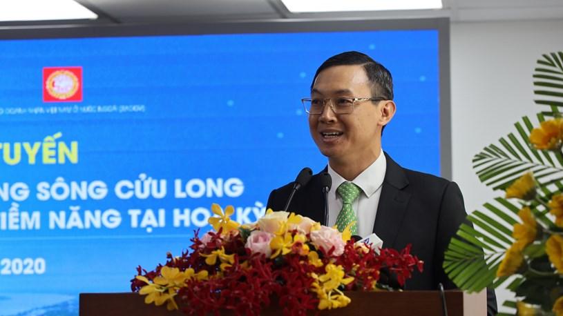 Phó Giám đốc Sở Ngoại vụ TPHCM Trần Phước Anh. Ảnh: Huyền Mai