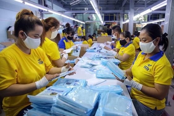Thị trường lao động tại TP.HCM có dấu hiệu khởi sắc. Ảnh minh họa - NLĐ.